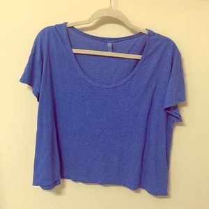 Blue Frenchi Crop Top from Nordstrom